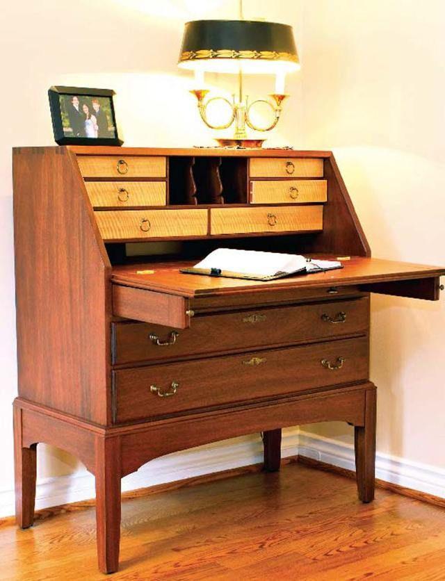 Mahogany Secretary Desk Part I | Desk plans, Secretary ...