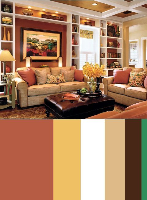 I Like This Red And Yellow Color Tan Living RoomsLiving Room IdeasBedroom