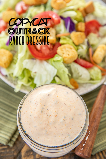 Copycat Outback Ranch Dressing Seriously The Best Ranch Dressing I Ve Ever Eaten Tastes Just Lik Ranch Dressing Recipe Ranch Dressing Outback Ranch Dressing
