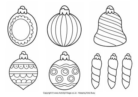 Sibling Decorating Christmas Tree B198 Coloring Pages Printable | 325x460