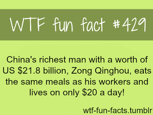 Chinas Richest Man More Of Fun Facts Areing Here Funny And Weird