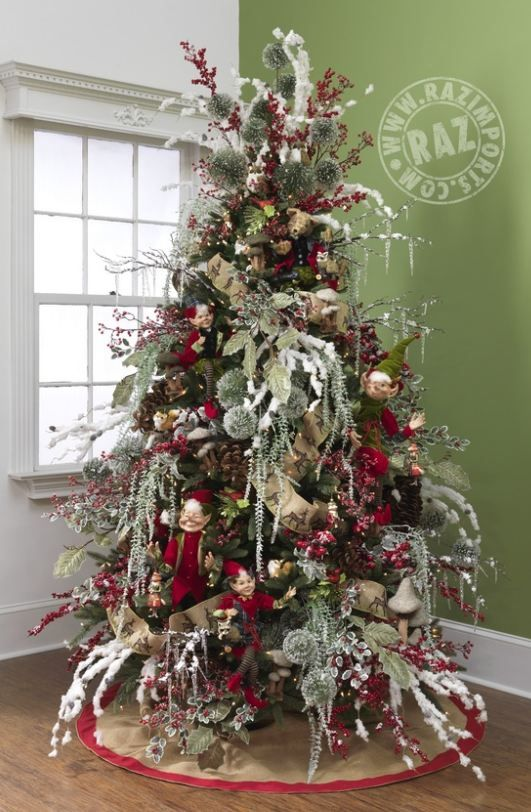 Decorated Christmas Trees Decorated Christmas Trees And List Of Products Trendy Tree Blog Amazing Christmas Trees Christmas Tree Christmas Tree Themes