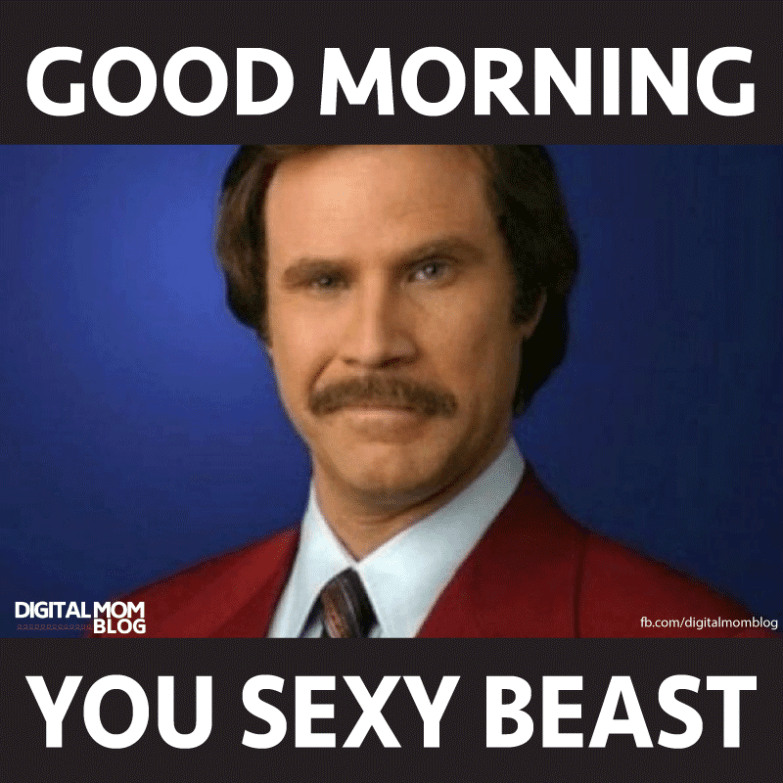 good morning sexy memes for him