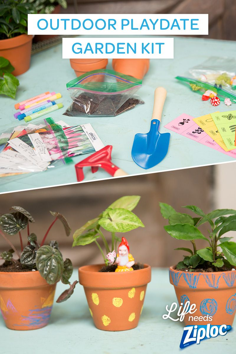 Host A Successful Outdoor Playdate With This Gardening Kit Craft