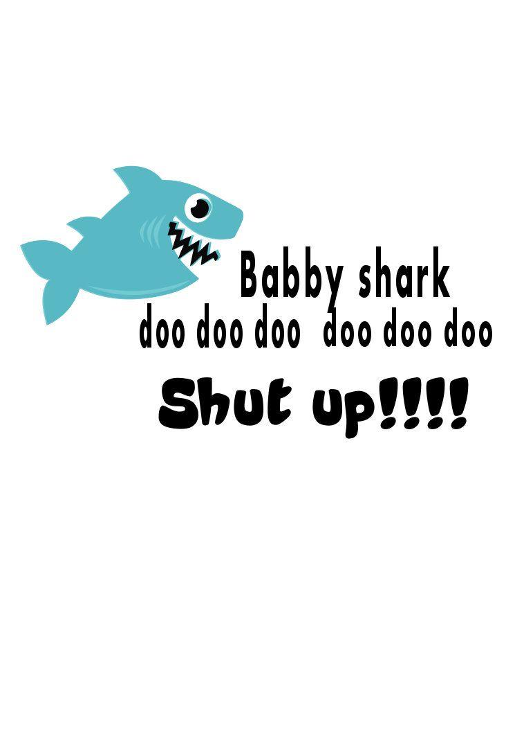 Baby Shark Svg File Shark Cut Files Png Svg Studio3 T