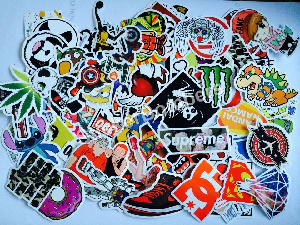 500 #StickerBomb #Stickers for £45 + Free Express P&P to #UK #