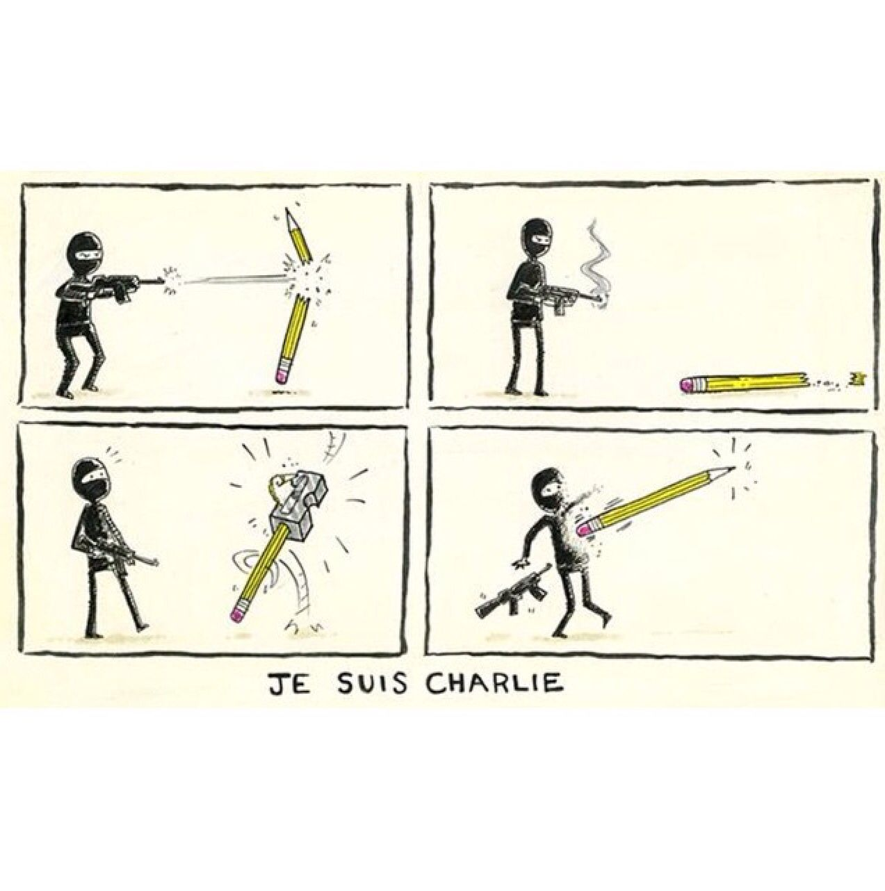 Je suis Charlie #Banksy