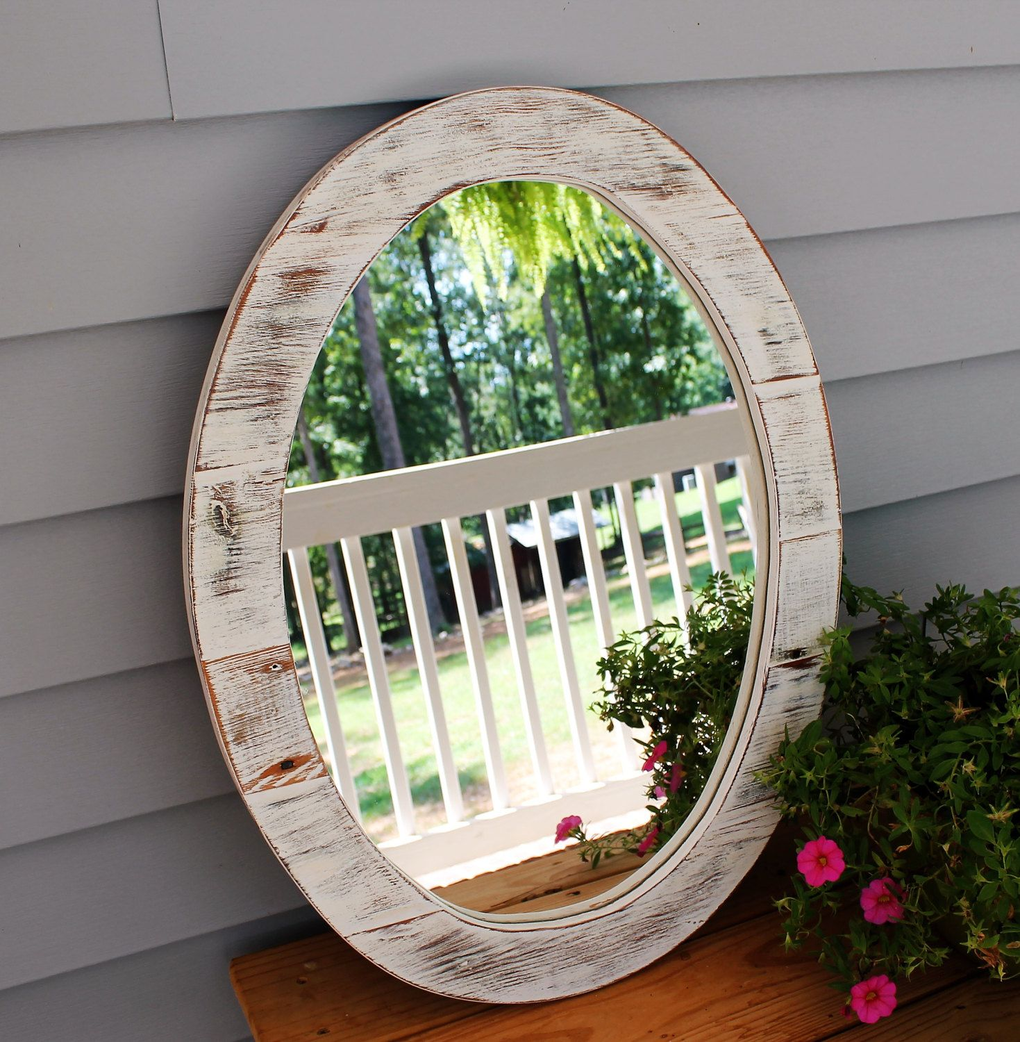Mirror Wood Mirror Rustic Mirrors Reclaimed Wood Mirror Rustic