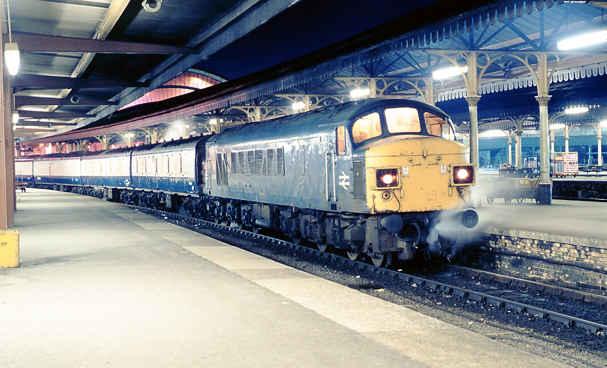 """Anglia Rail Forum on Twitter: """"45053 on York Shrewsbury mail 16.10.81 thanks to Andy Piper and Pogo https://t.co/czNq8WgZkX"""""""