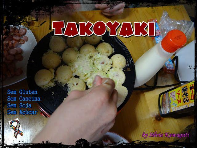 Não Contém Gluten: Takoyaki Não Contém Gluten, Caseína/Lactose, Soja, Açúcar