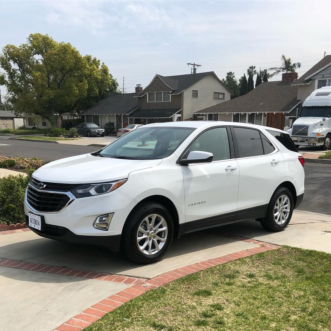 Another White On Black 2019 Chevy Equinox Sold And Safely