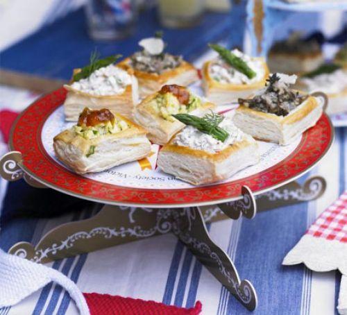 Party vol au vents recipe vegetarian christmas recipes british party vol au vents forumfinder Choice Image