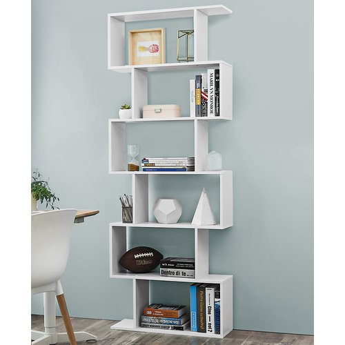 Avel Cube Wooden Bookcase Metro Lane Wooden Bookcase Bookcase