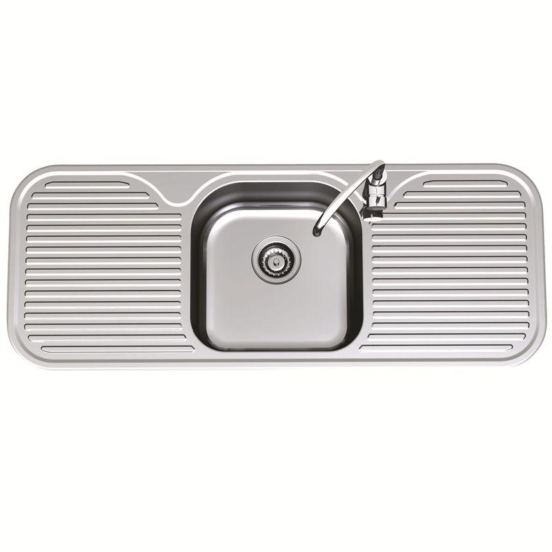Clark 1230mm Advance Single Centre Sink Bowl LH 1TH | kitchen ...