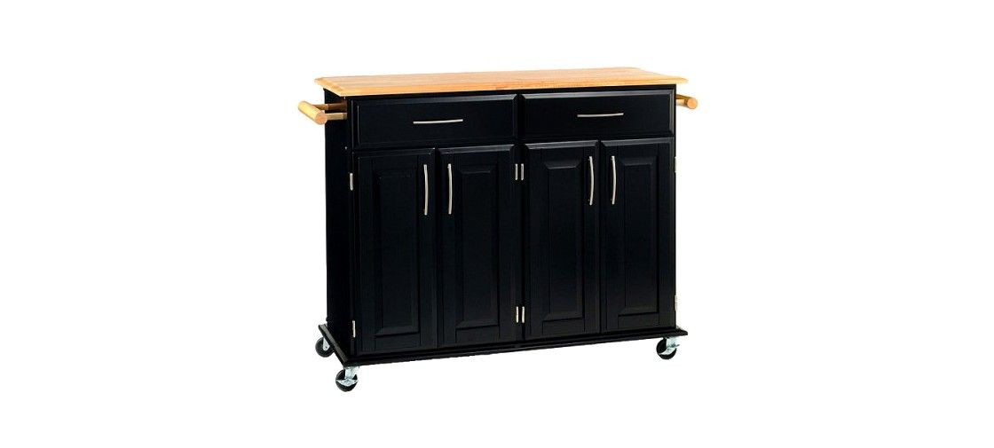 dolly madison kitchen island cart dolly madison kitchen island cart wood black natural home styles kitchen island cart home 3695