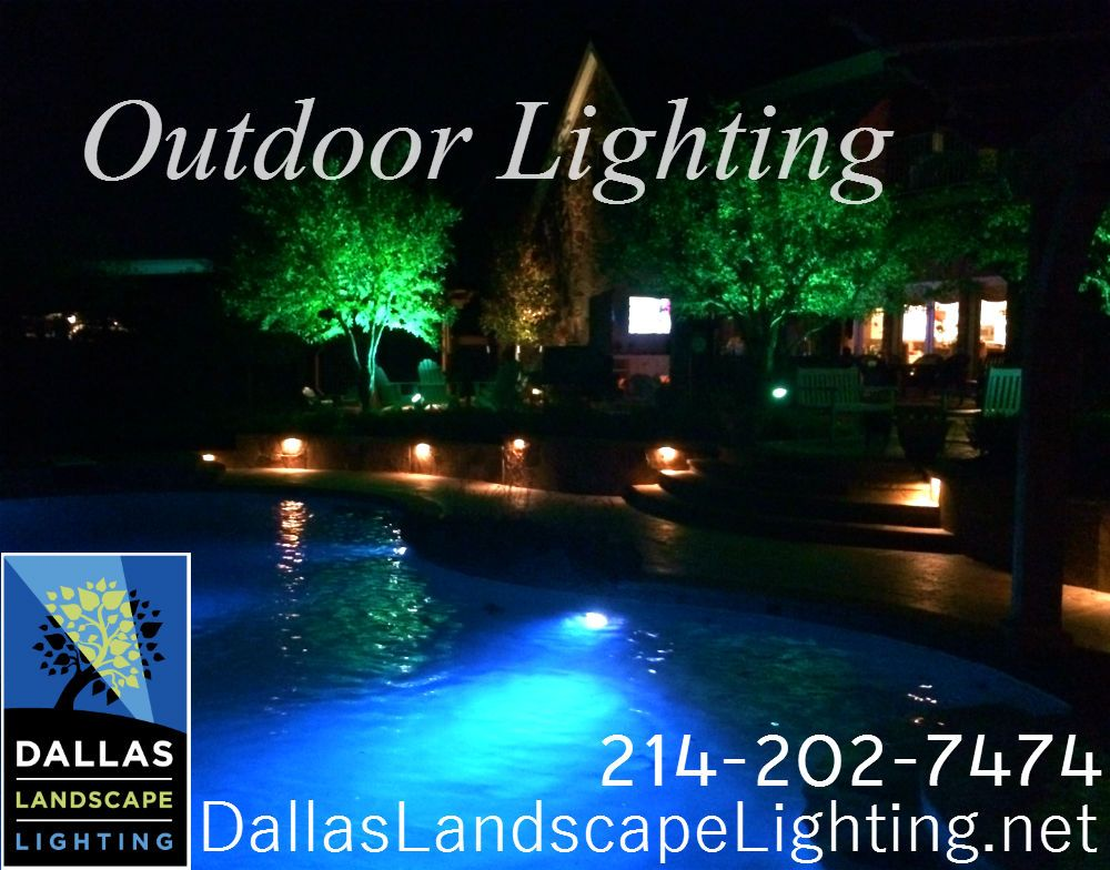 pictures dallas light pool and outdoor steps