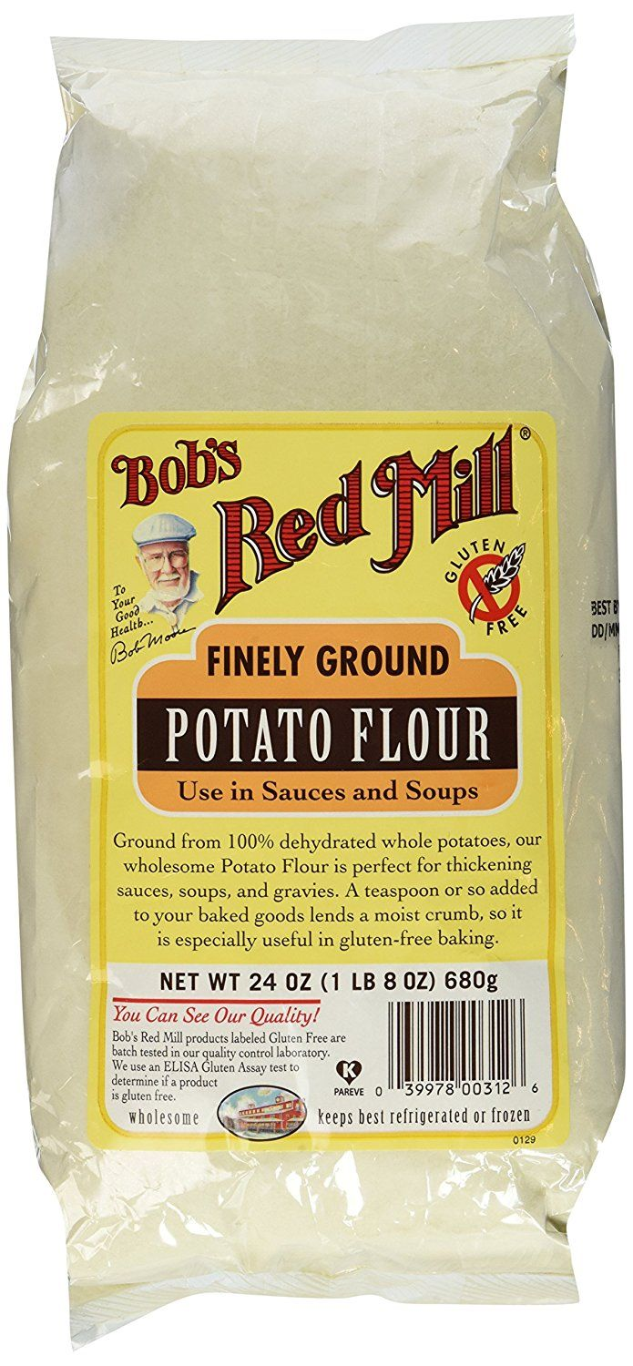 Potato Flour, Gluten Free, Bob's Red Mill - 2 / 24 Oz. Bags ** Check out the image by visiting the link.