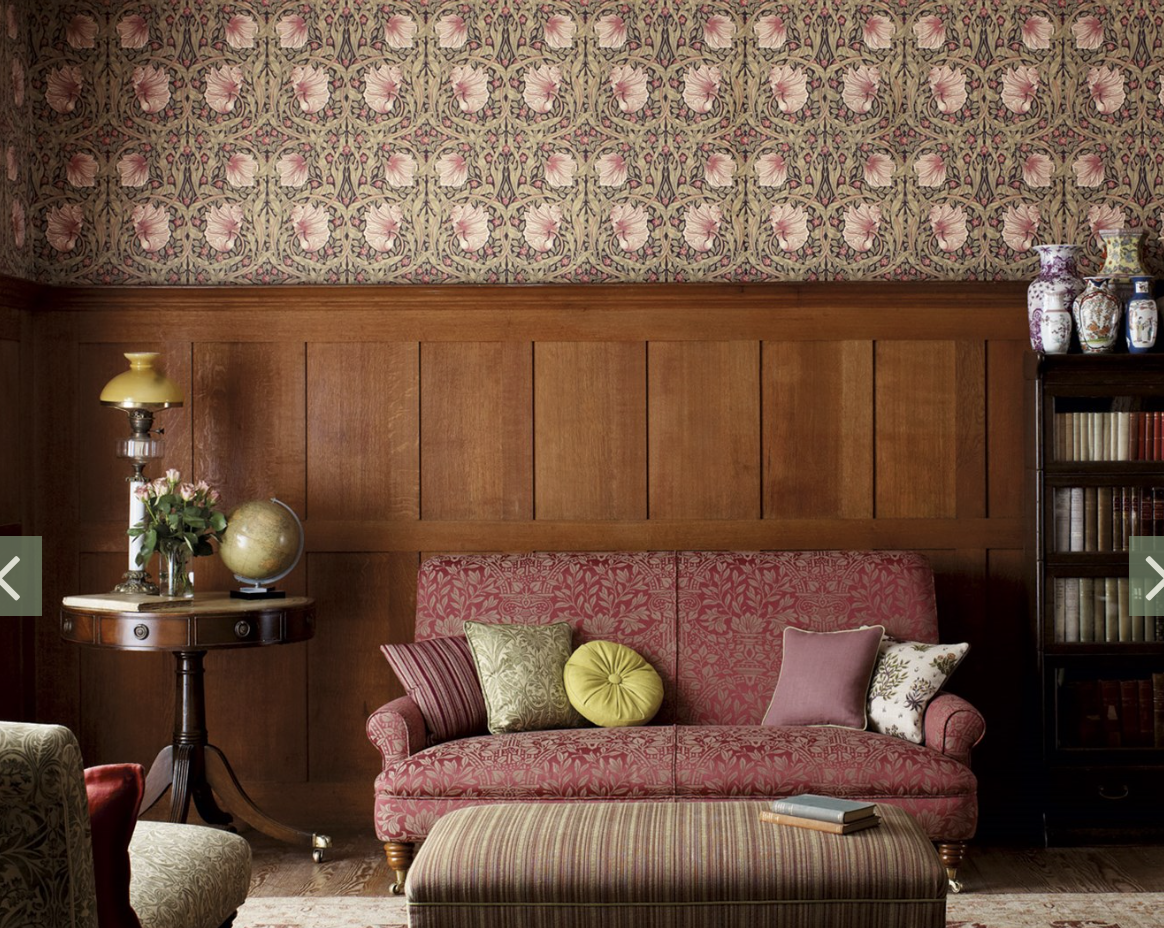 Traditional hallway wallpaper  Pin by Leah Borrie on Your Next Favorite Space  Pinterest  Spaces