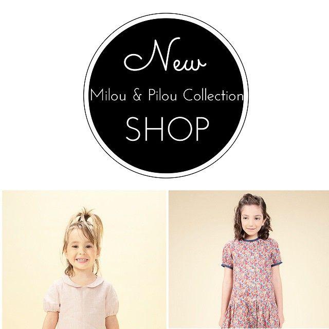 Nueva colección de #milouandpilou en el Shop! New #milouandpilou collection in the Shop! #kidsfashion #modabebé #modaniños #modainfantil #franch #style