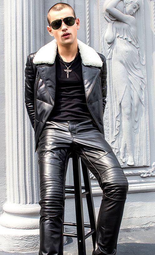e1be090e0aa6 Épinglé par orlov sur Cuir homme   Pinterest   Leather men, Leather ...