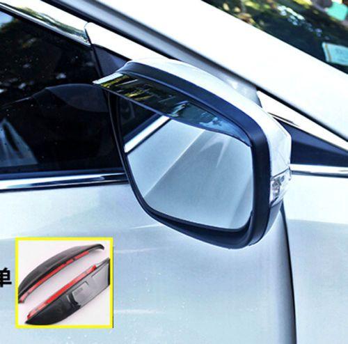 Fit For 2011 Kia Sportage Door Rear View Mirror Rain Guard Visor Shield Outer Kia Sportage Wing Mirrors Exterior Accessories