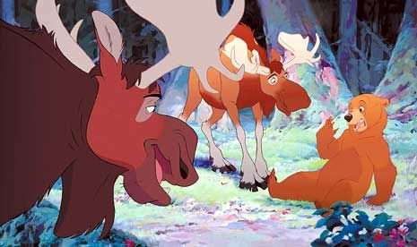 *TUKE, RUTT & KENAI ~ Brother Bear,