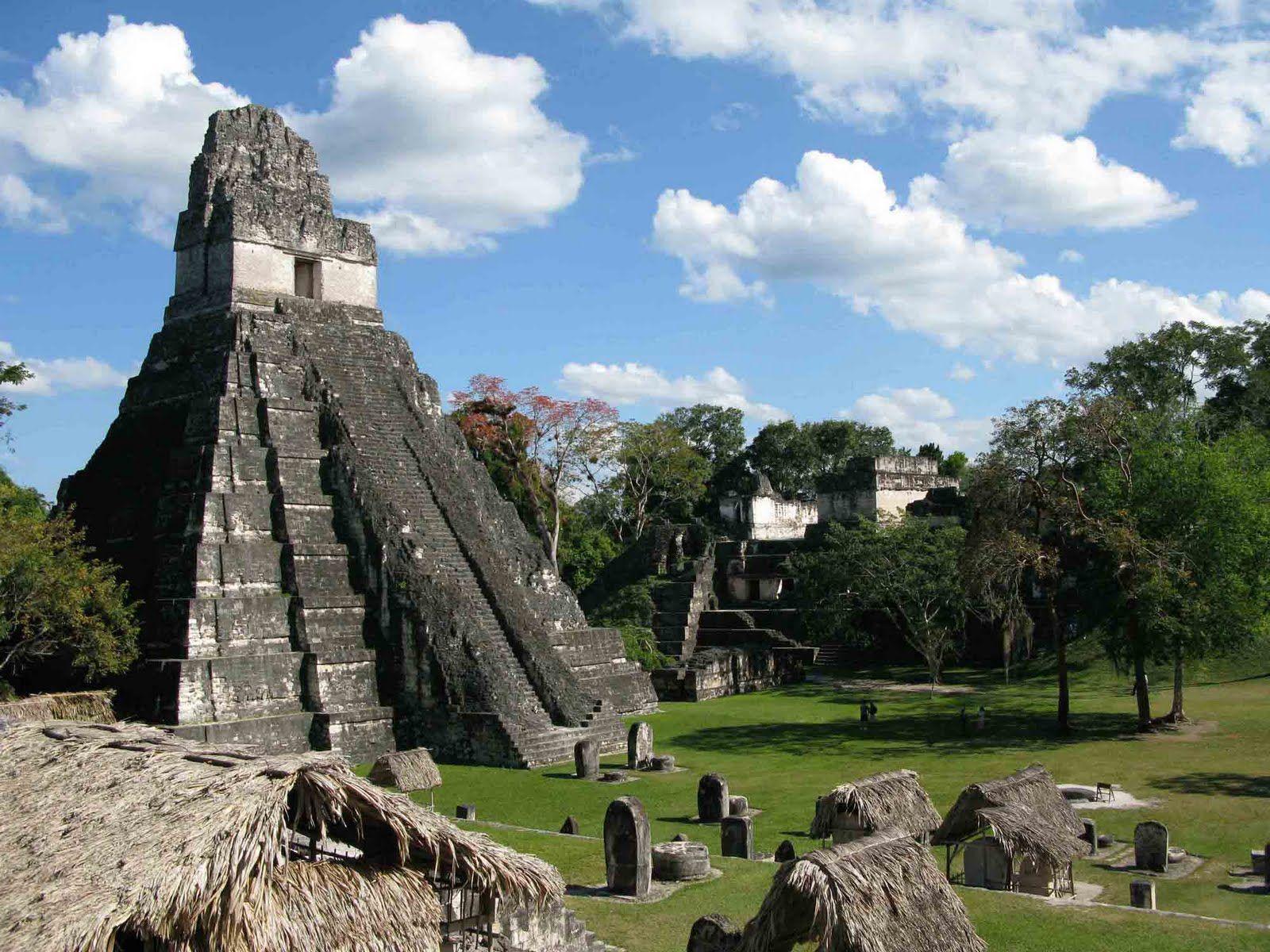 mayan sacrifice temple - HD1600×1200