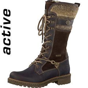 Tamaris Schuhe Stiefel Warmfutter Mocca Comb Art 1 1 26431 21 312 Stiefel Stiefeletten Tamaris Schuhe