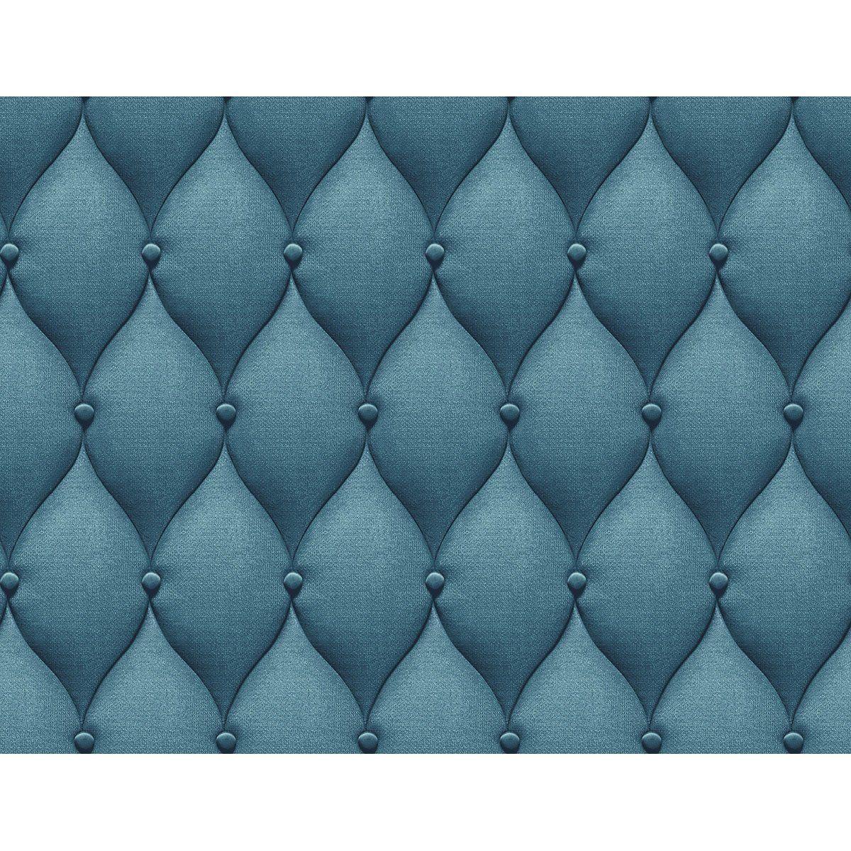 Papier Peint Vinyle Capiton 3d Bleu Leroy Merlin Papier Peint Papier Peint Vinyle Papier Peint Bleu