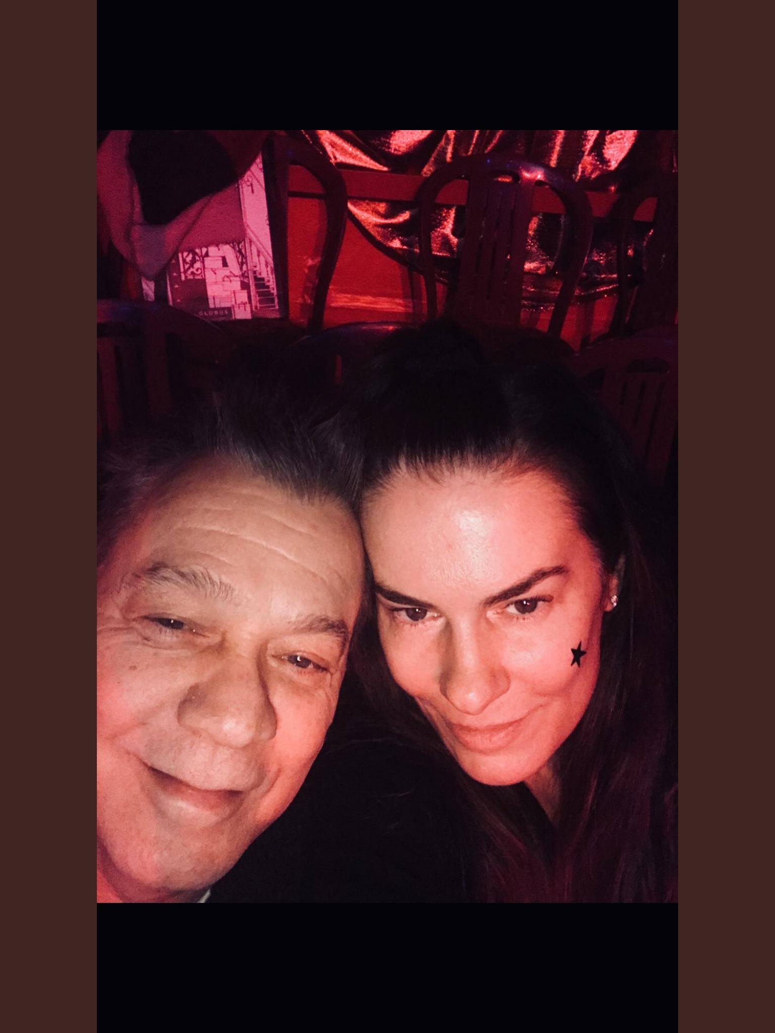 Eddie Van Halen Janie Van Halen Date Night At Circus Conelli On The Limmat River Van Halen Eddie Van Halen Van Halen 5150