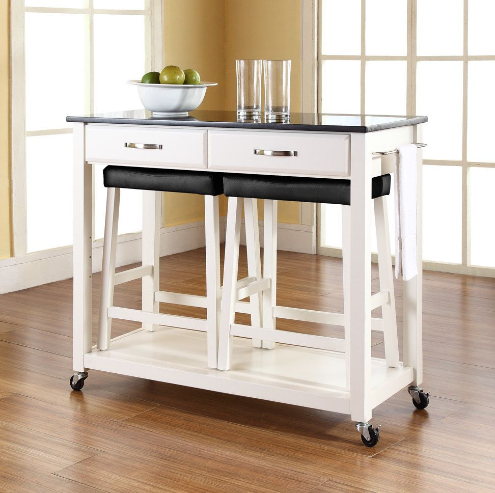 Kitchen Island Table IKEA on Wheel  For the Home in 2019