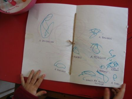 Bookmaking with Little Kids