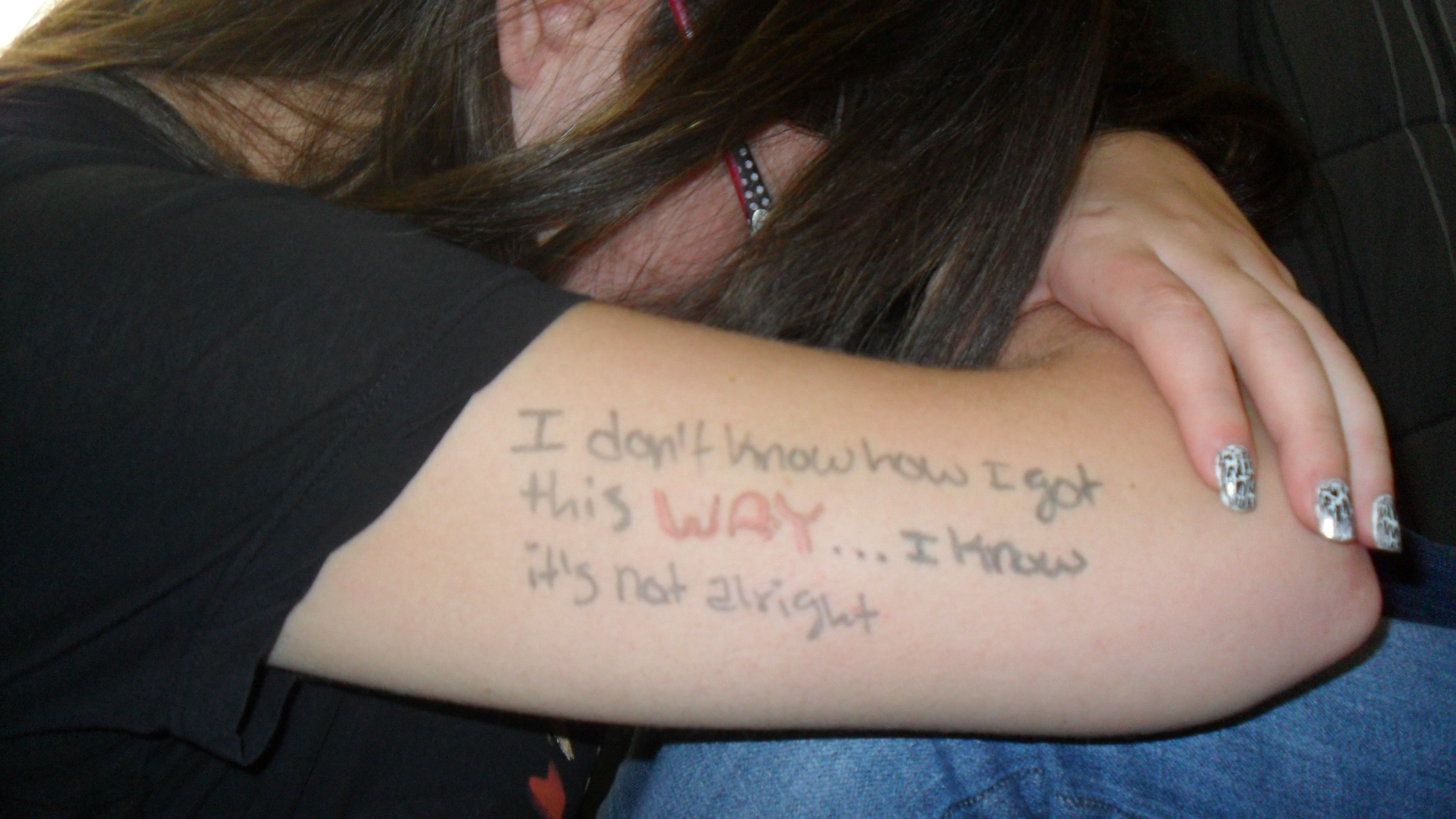 Linkin Park Breaking The Habit Tattoo Quotes Fish
