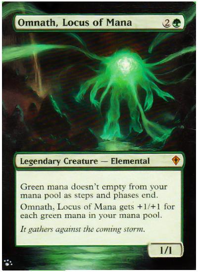 Omnath Locus Of Mana Magic Card Alters Magic The Gathering