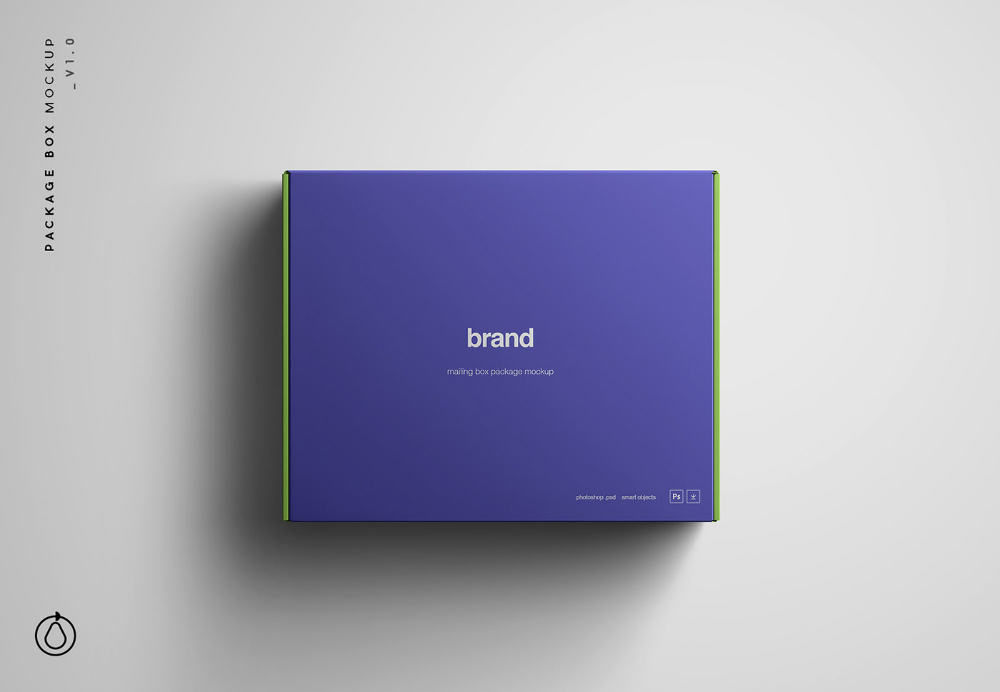 Download Package Box Mockup On Behance