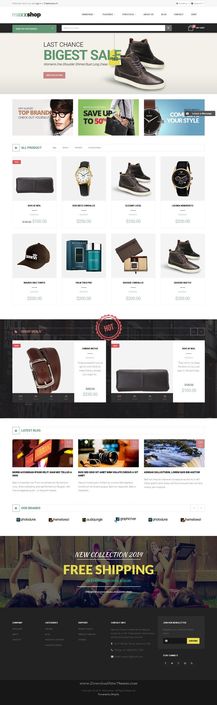 Maxx - Shopify Theme