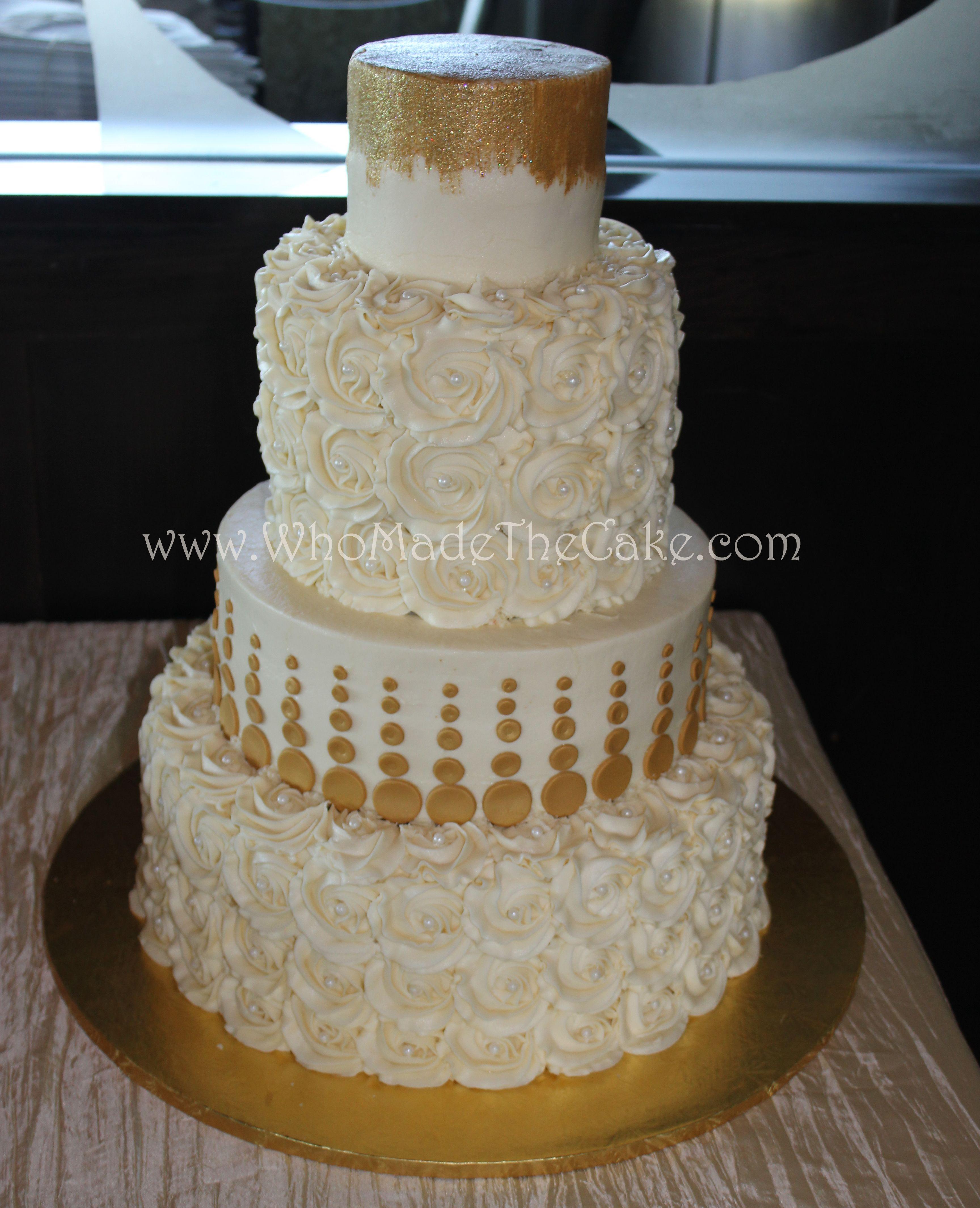 Modern Buttercream Cake