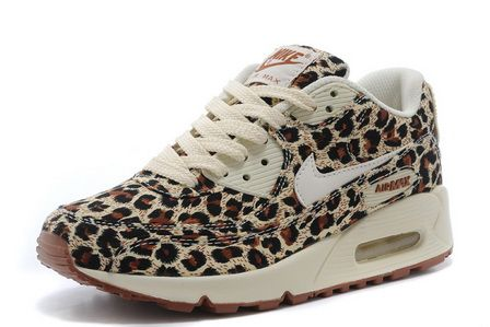 Nike Air Max 90 Leopard for Women / Brown Black White