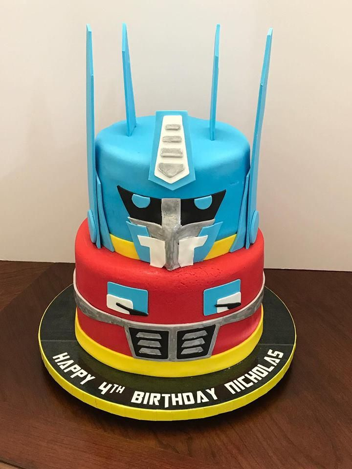 Transformer Birthday Cake Nicholas Transformer Birthday Birthday