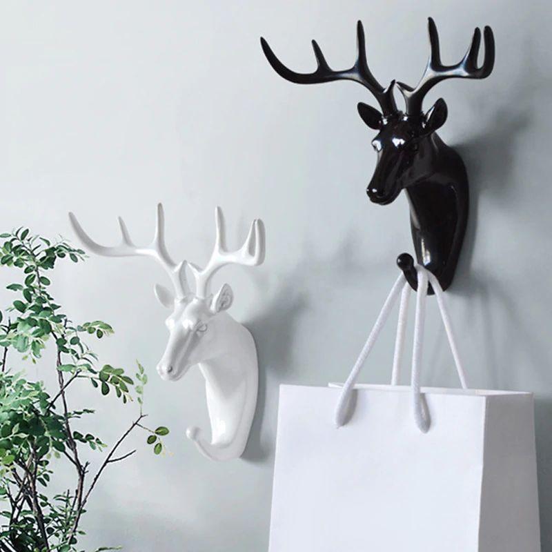 Diy Dekor Sdelaj Sam Svoimi Rukami Dekor Komnaty Lajfhaki Podelki Beri I Delaj Dekor Dlya Doma Novogodnij Dekor Sovety Rukov Animal Heads Animal Hooks Deer Wall