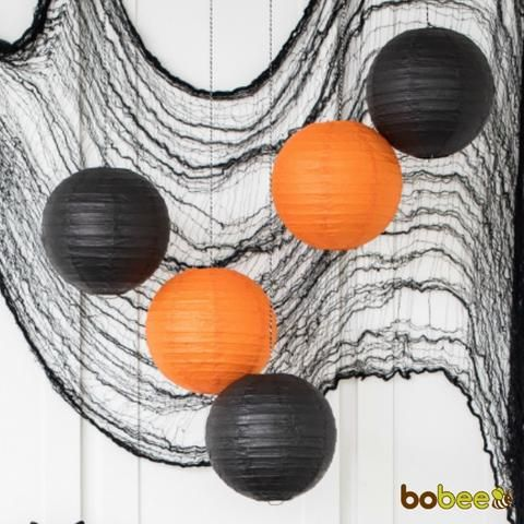 Halloween Paper Lanterns Party Decorations Shop Bobee\u0027s Party