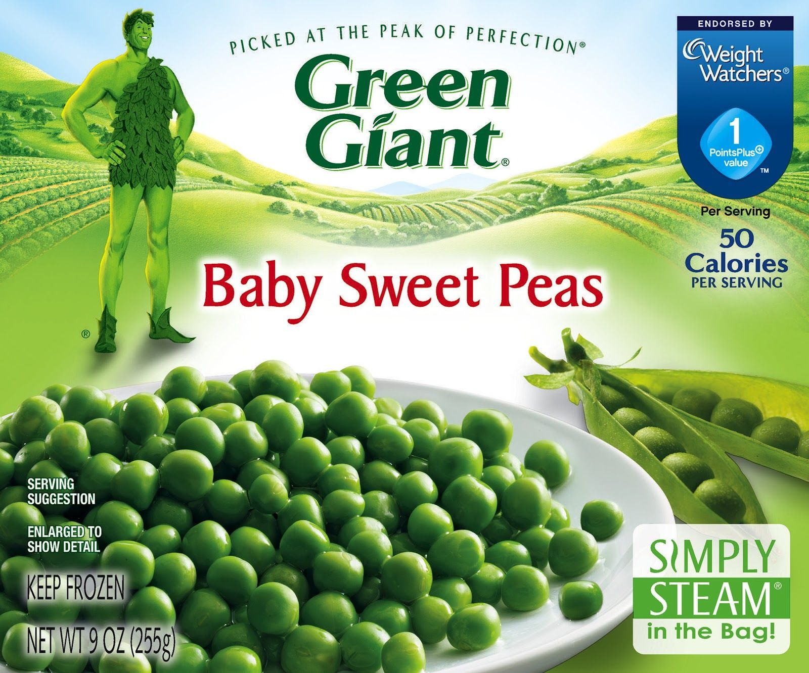 Green giant is the only frozen vegetable brand to be