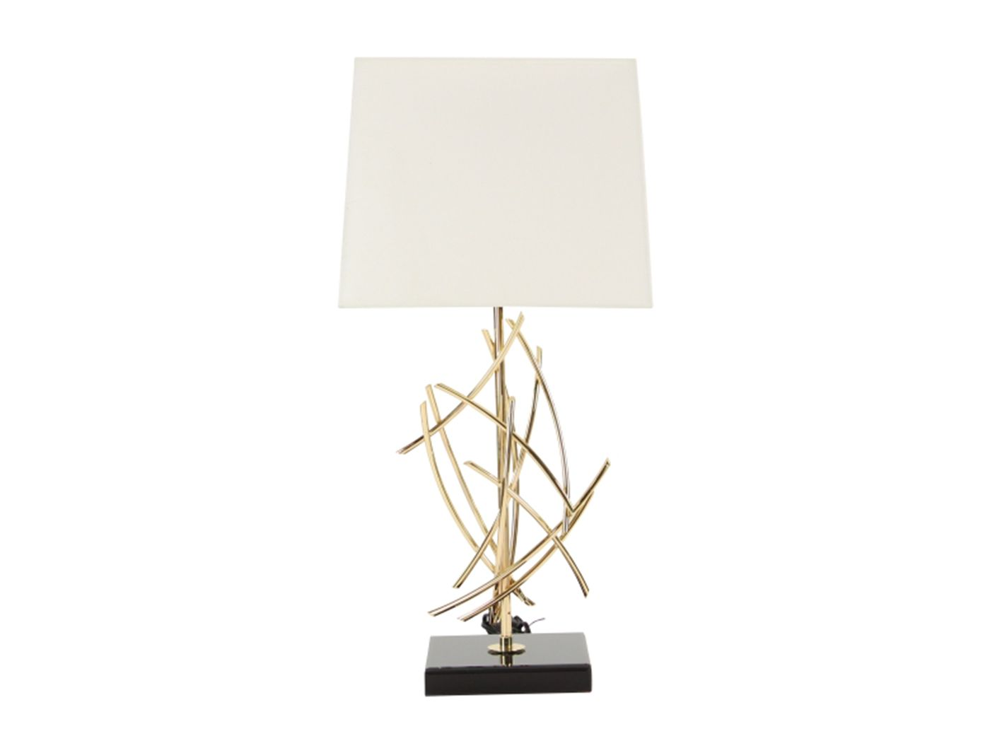 Use This Abstract Table Lamp To Create A Modern Touch We Love
