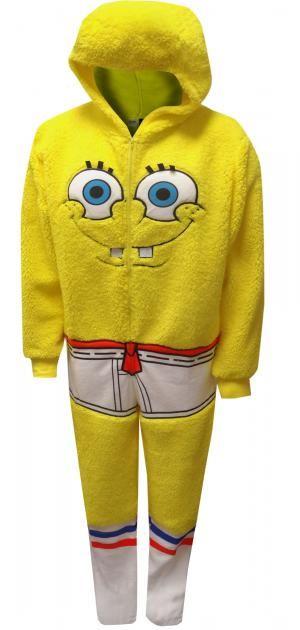 0874aeff9a923 SpongeBob Be the Sponge One Piece Pajama in 2019   Costumes ...