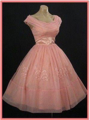 50s Tea Length Prom Dresses
