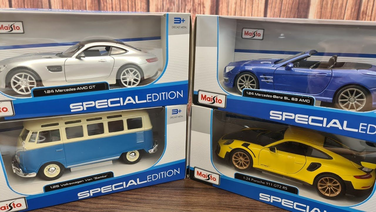 Unboxing Cars 1 24 Scale Maisto Cars In 2020 Car Model Cars Diecast Cars