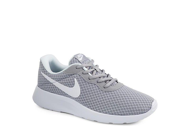 Nike Womens Tanjun Grey Womens Gray Nike Shoes Grey Nikes Womens Gray Nike Shoes