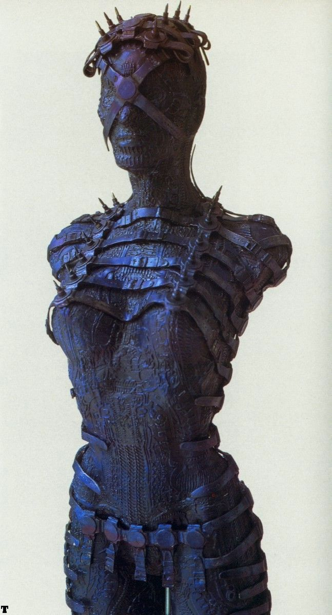 Female Torso by H. R. Giger