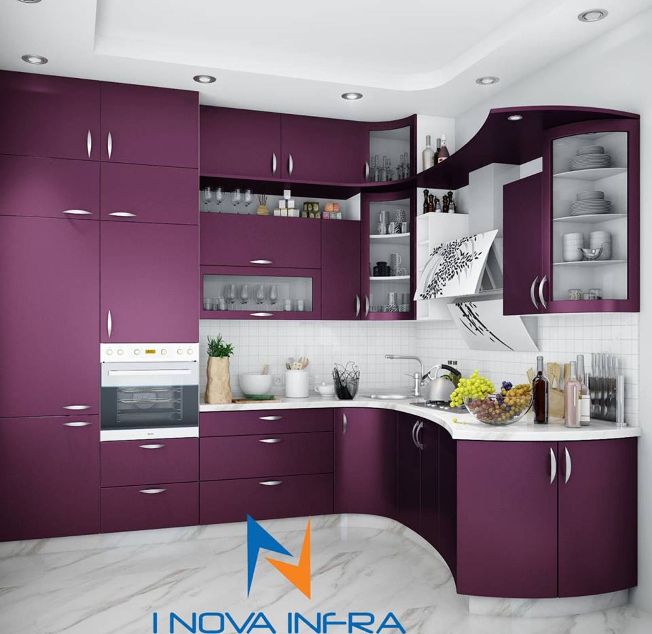 6 Ways To Store More In Your Small Indian Kitchen Homify Kitchen Cupboard Designs Simple Kitchen Design Kitchen Interior Design Decor