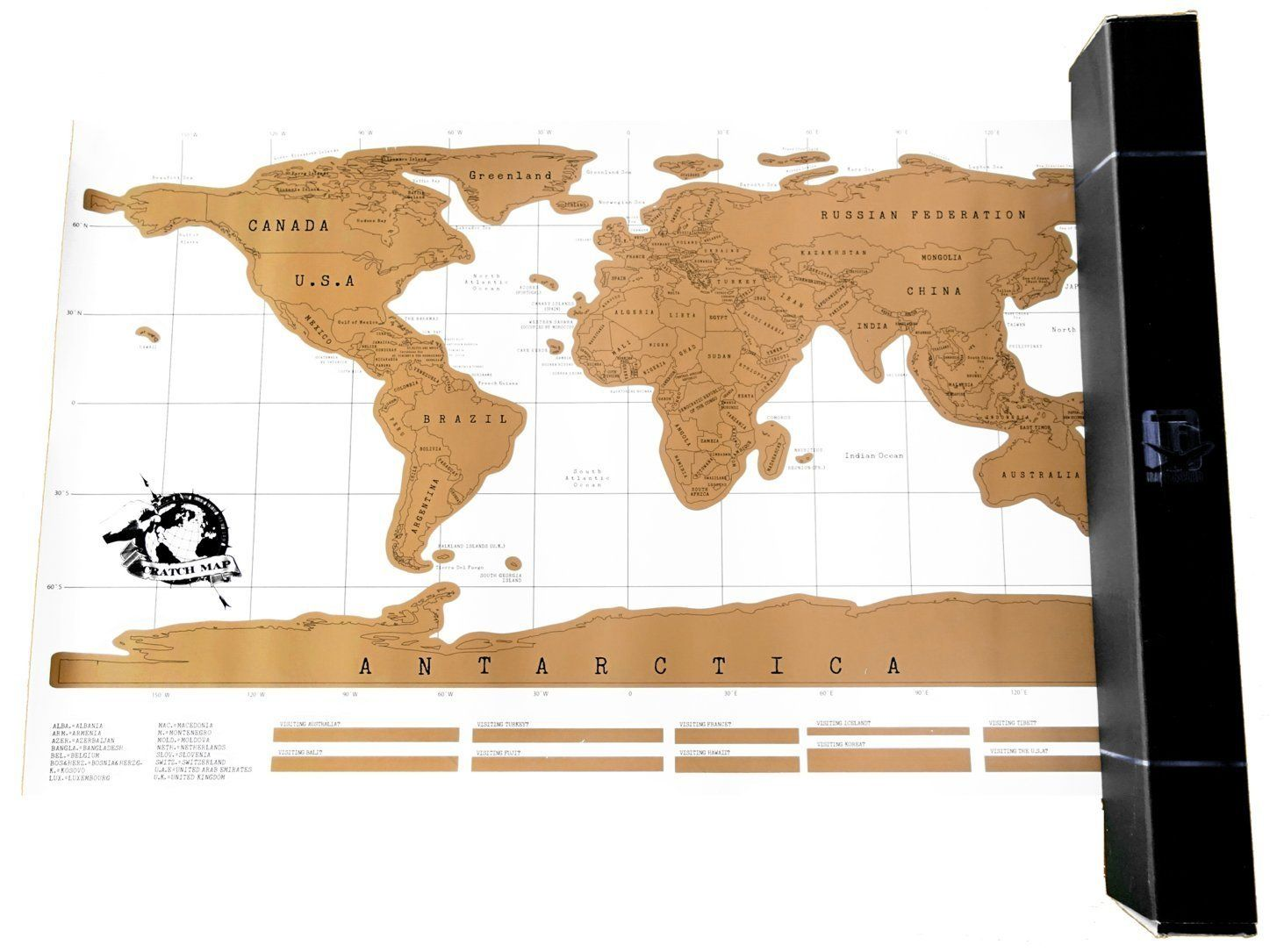Amazon Scratch f Map Best World Map Poster Your
